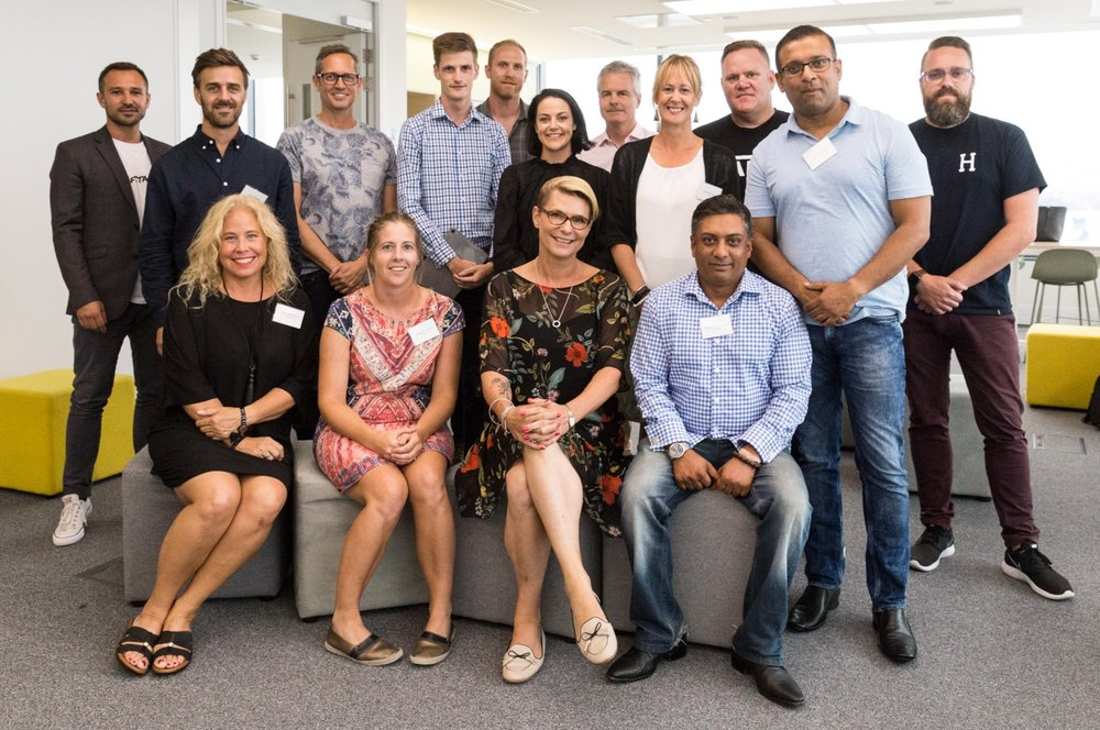 ecentre's Sprint Global 2019 cohort
