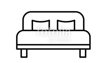 2 Full Beds -