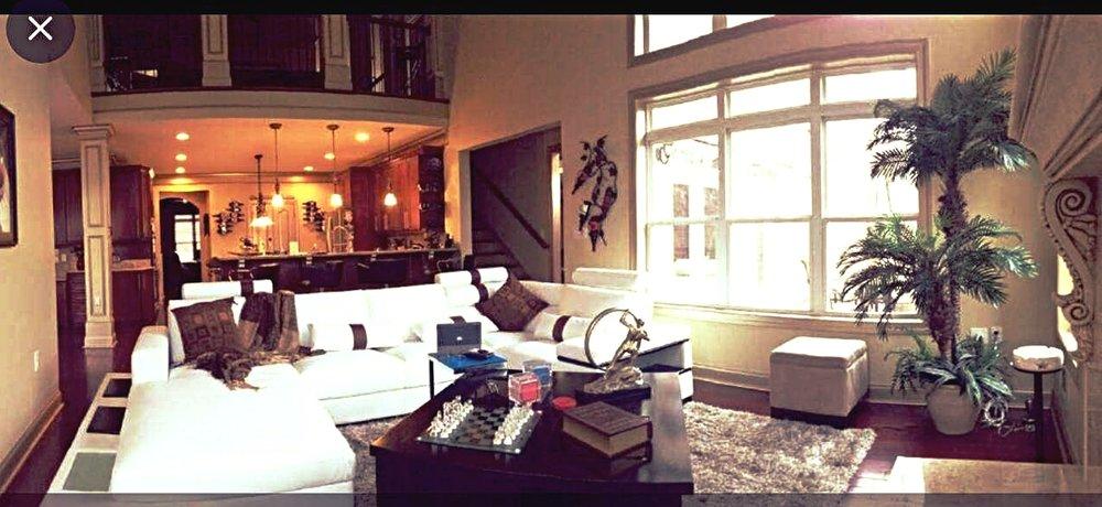 Family Room, Balcony & Kitchen #1