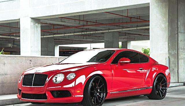 Bentley Continental GT -