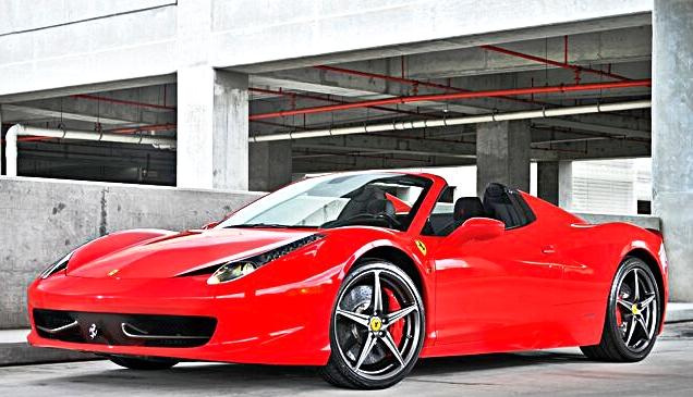 Ferrari 458 Spider -