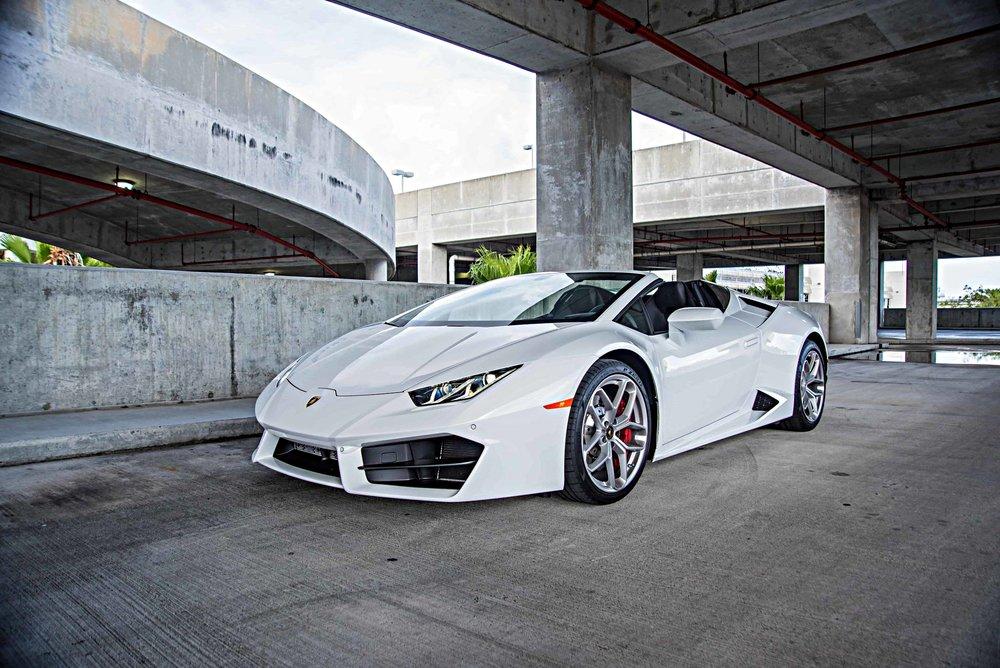 Lamborghini Huracan Spyder -