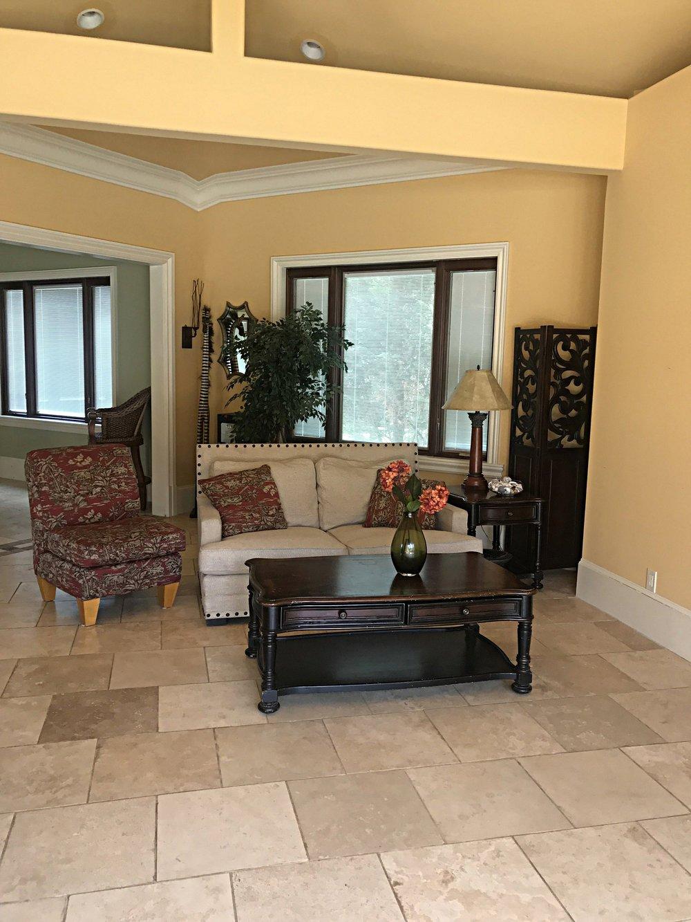 Pool House Living Room