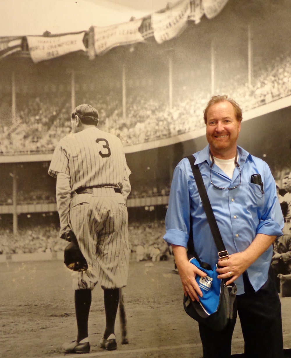 Douglas at the Babe Ruth Museum