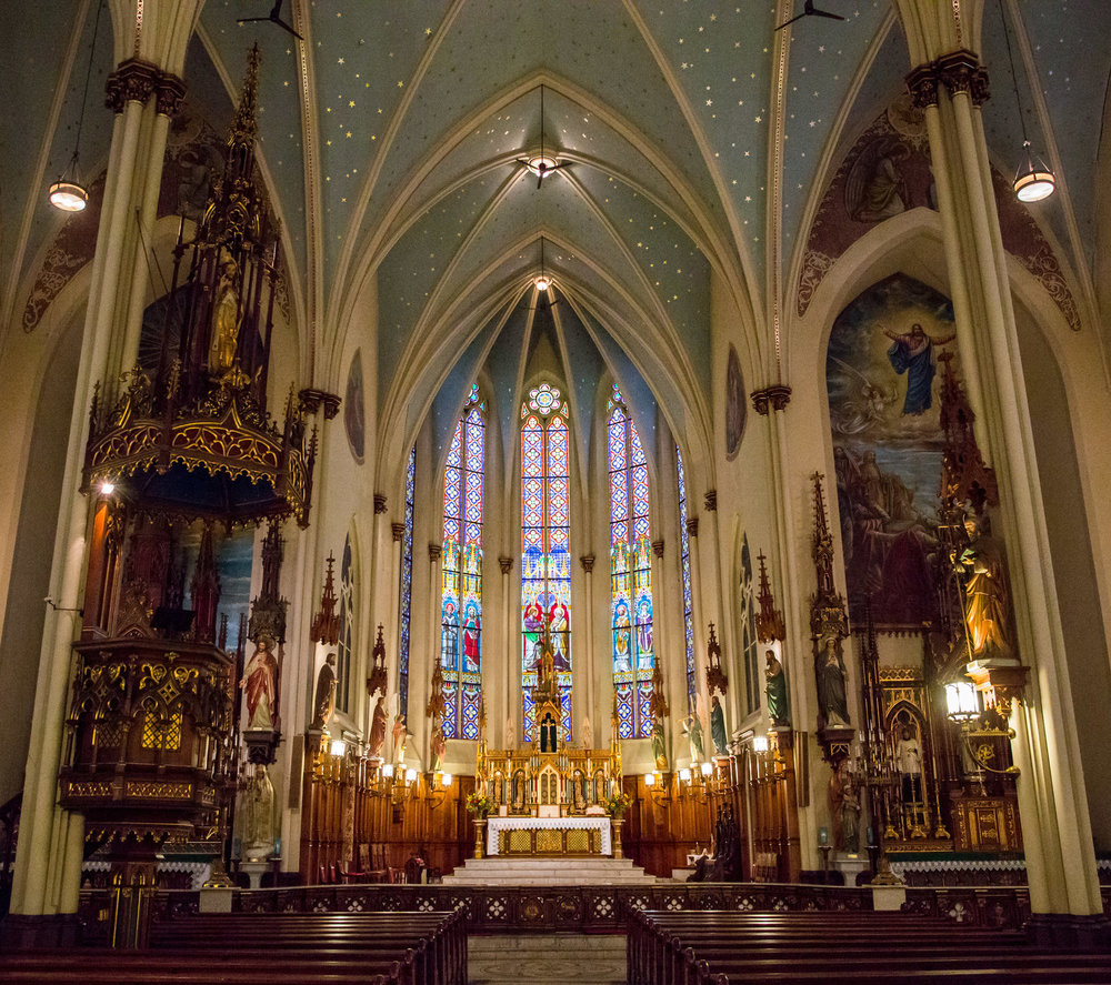 Interior of St. Joseph's Oratory