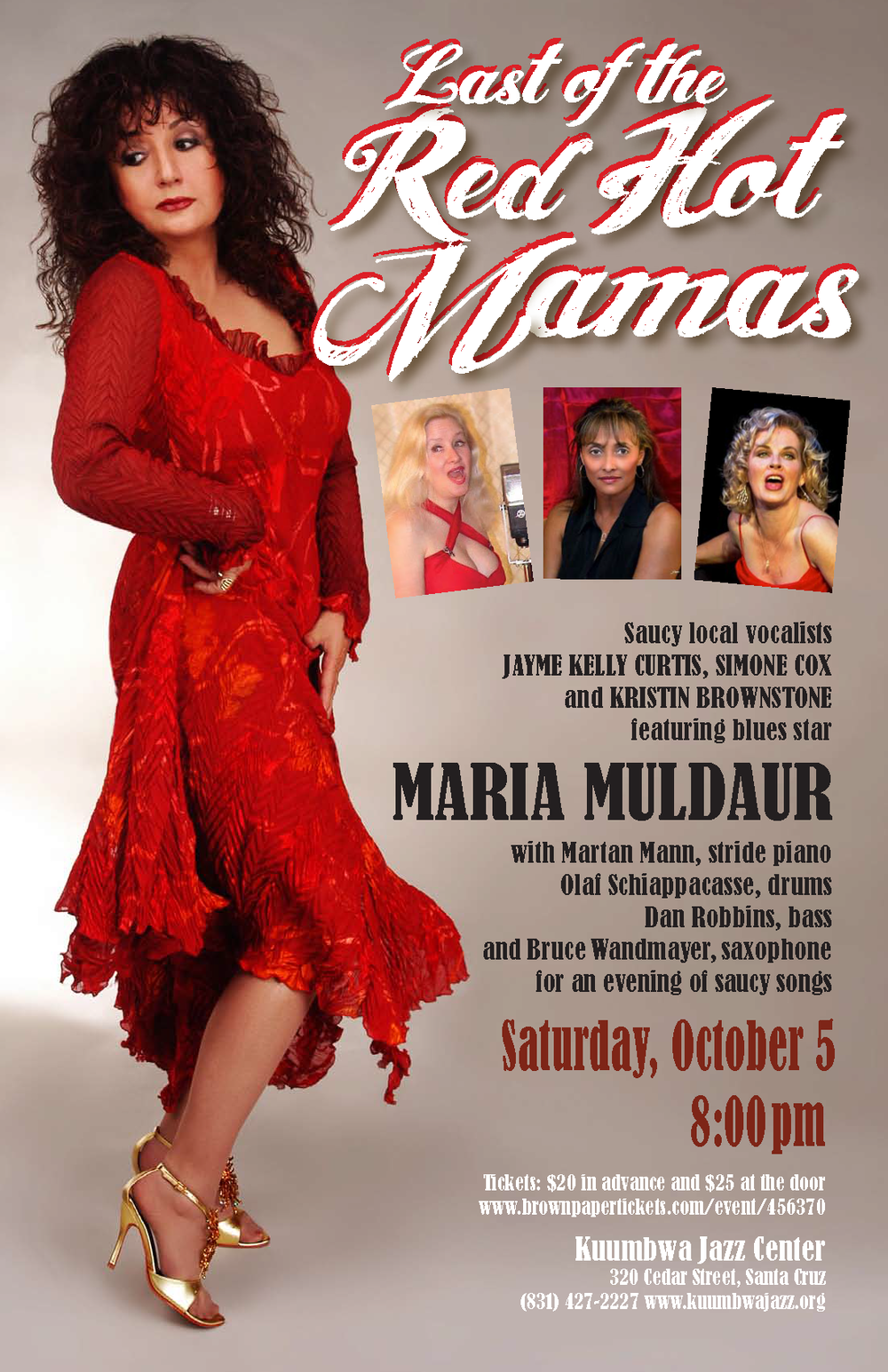 "Poster for ""Last of the Red Hot Mamas"""