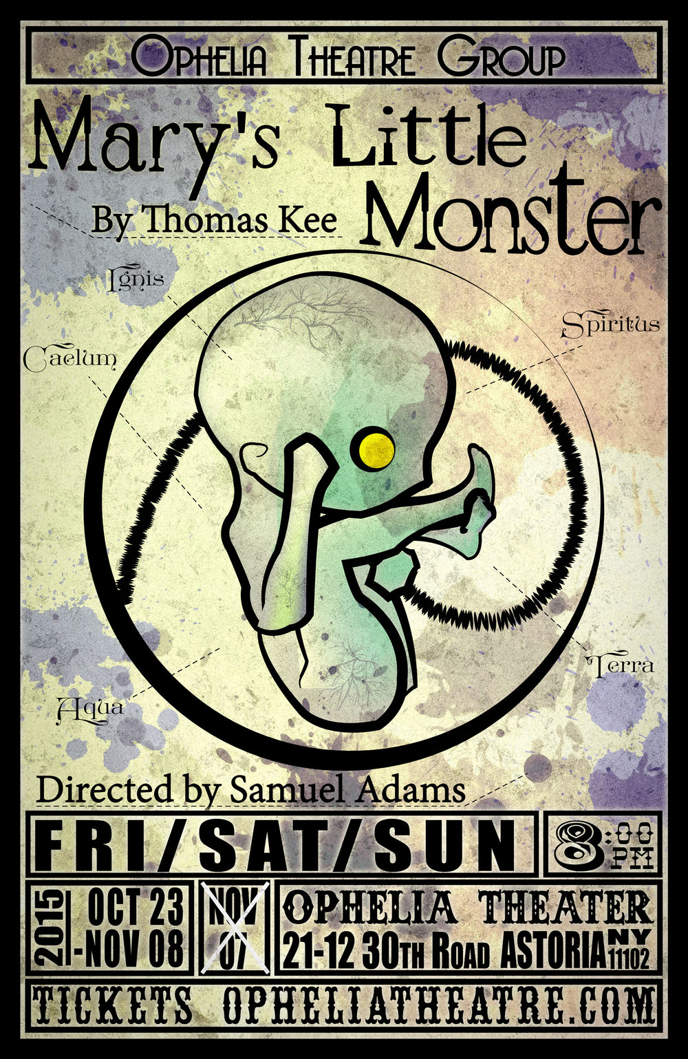 Mary's Little Monster     Written Thomas Kee
