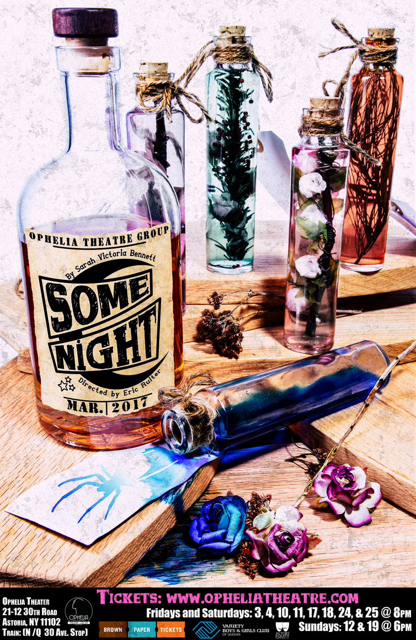Some Night by Sarah Victoria Bennett, poster design courtesy of  John Robert Hoffman .