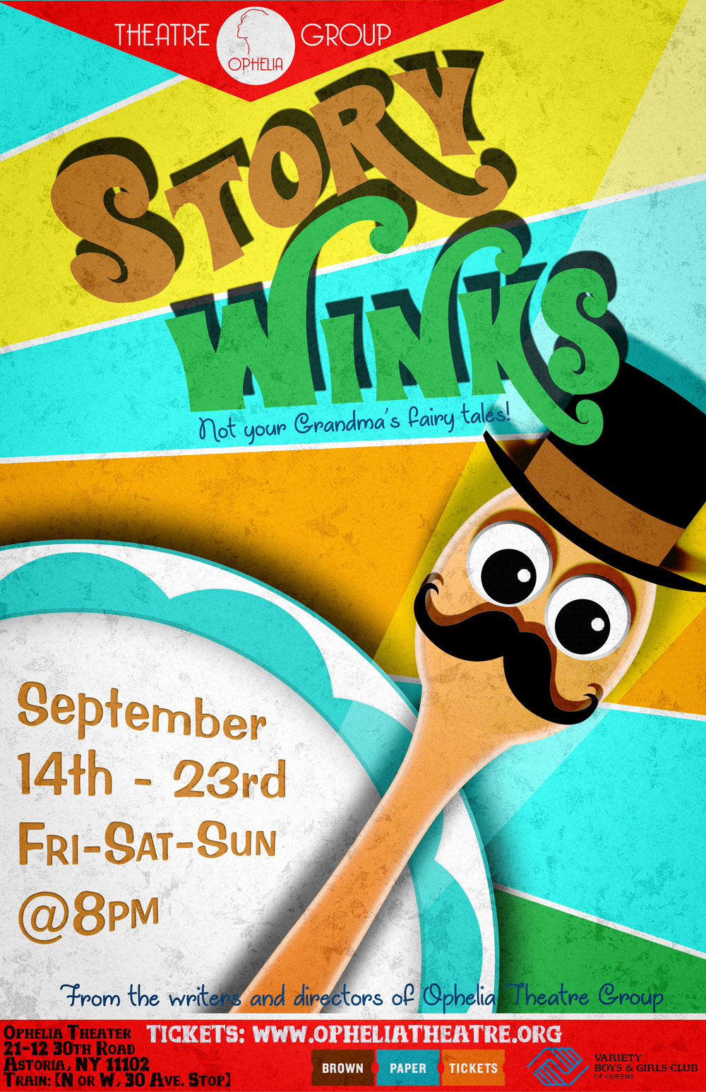 Story Winks     by the writers of Ophelia Theatre Group