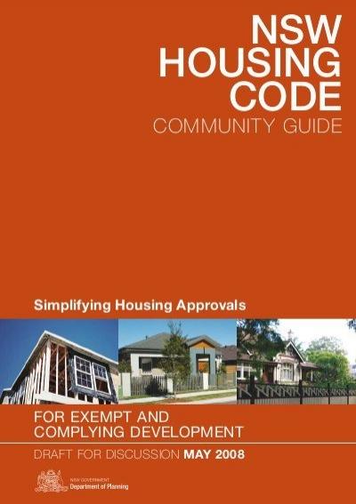 NSW HOUSING CODE