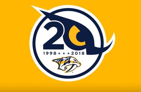 Predator's 20th Season Logo