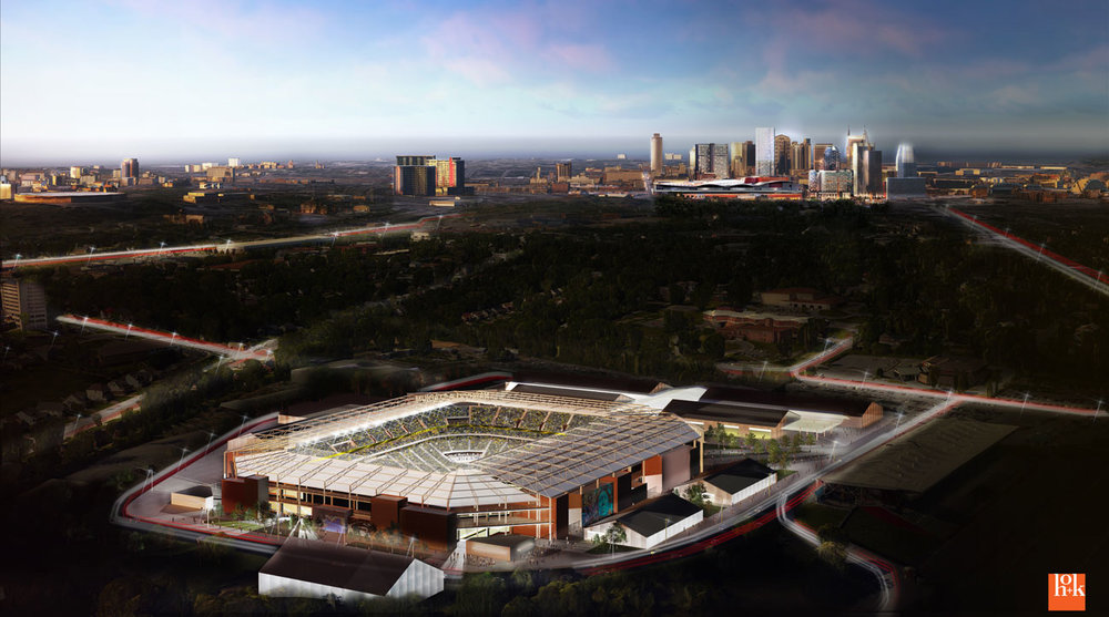 STADIUM ISSUES: Will the MLS2Nashville group's stadium rendering be enough for an expansion team?
