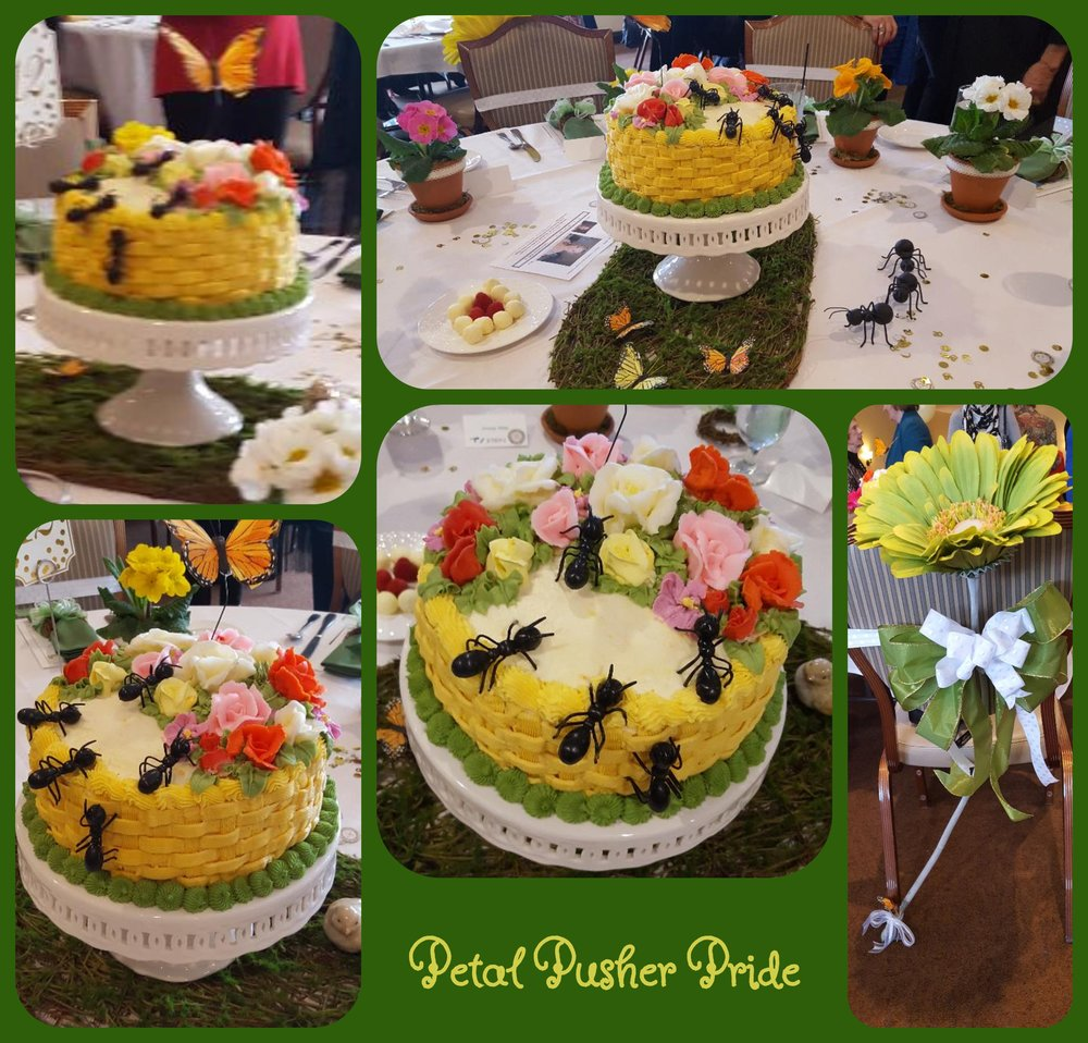 - Petal Pushers table presentation is the ultimate picnic!