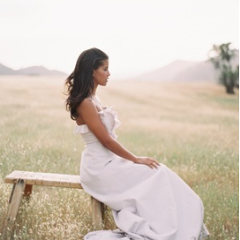 Prairie Romance - Feminine editorial for Wedding Celebrations Magazine set at the Figueroa Mountain Farmhouse. Photos by Kurt Boomer.open gallery