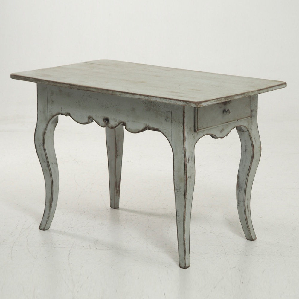Unusual Freestending Rococo Style Table, With A Drawer On Both Ends, 19th C.  U2014 Selected Design U0026 Antiques
