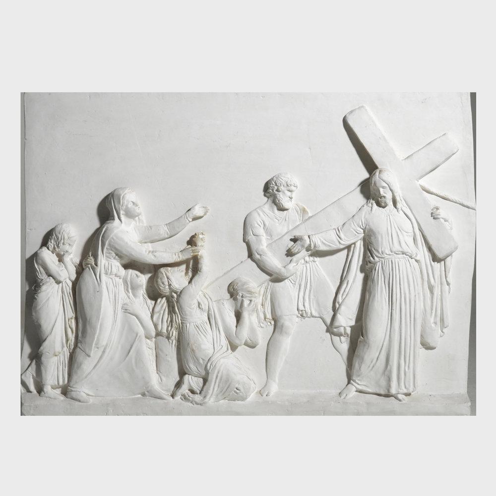 "Fine plaster, sign.""Thorvaldsen Museum"". - € 800"