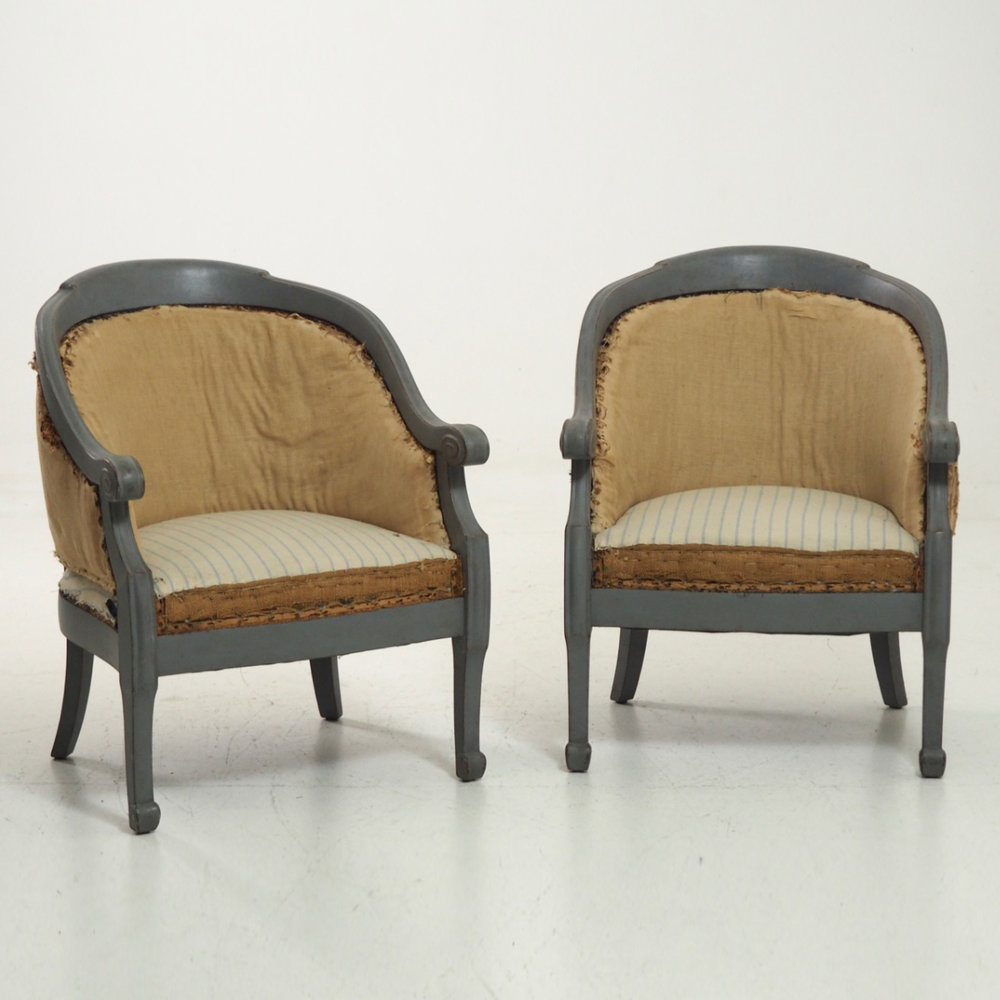 Pair of bergere, circa 100 years old. - € 800