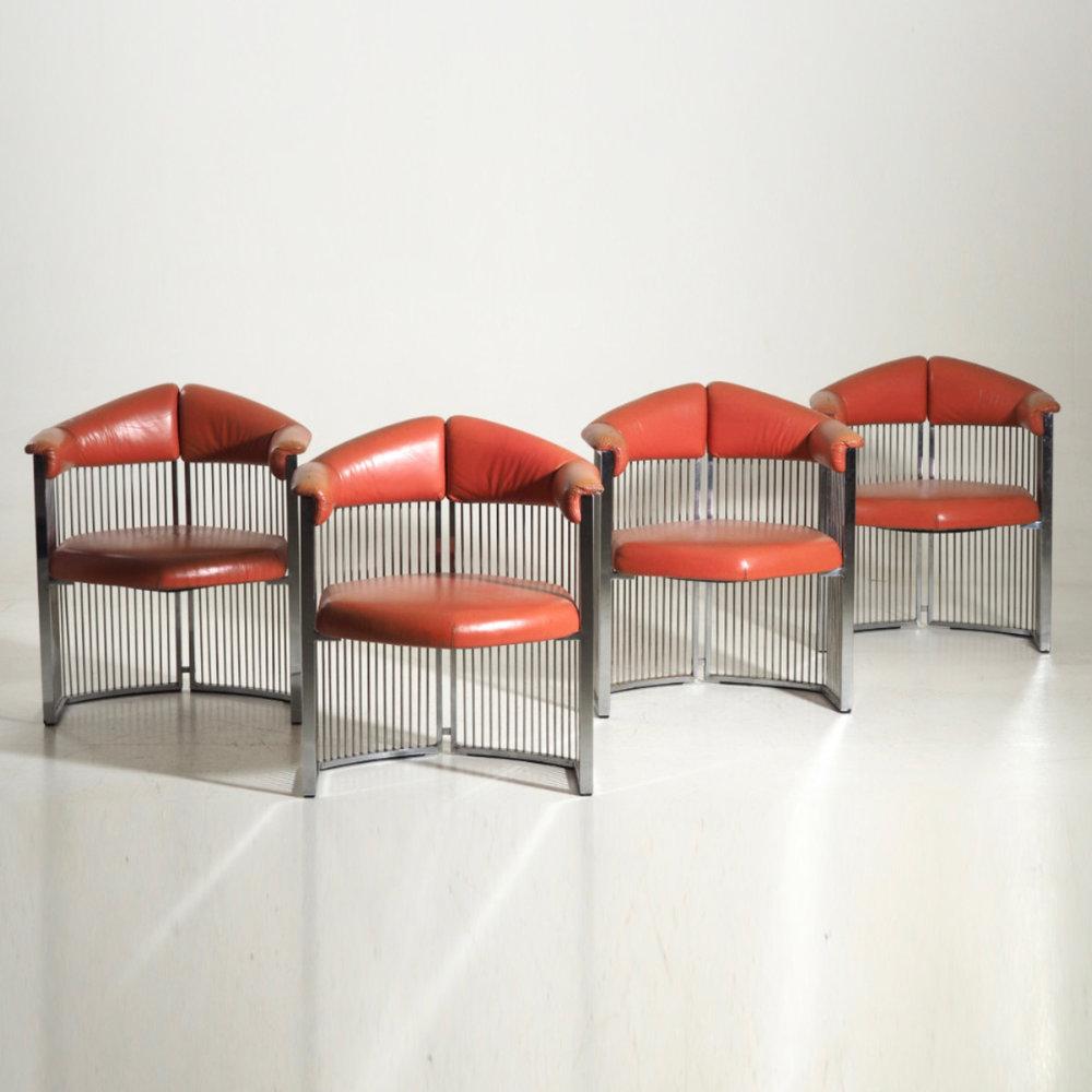 Four Italian armchairs, 60's - € 3.000