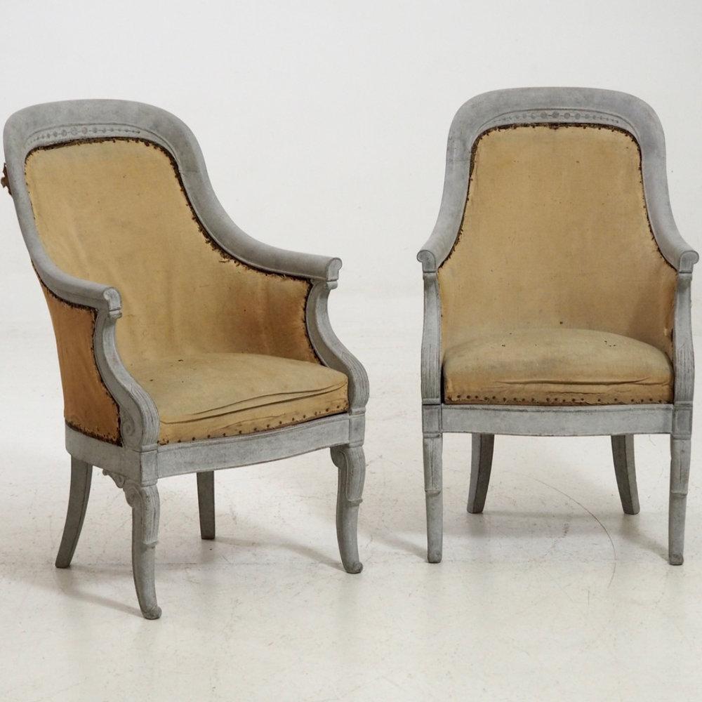 Pair of bergere, circa 1820. - € 1.600
