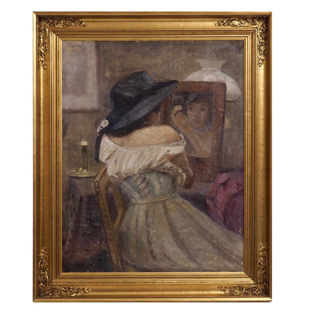 Impressionist painting, circa 1880 - 10. - € 1.400
