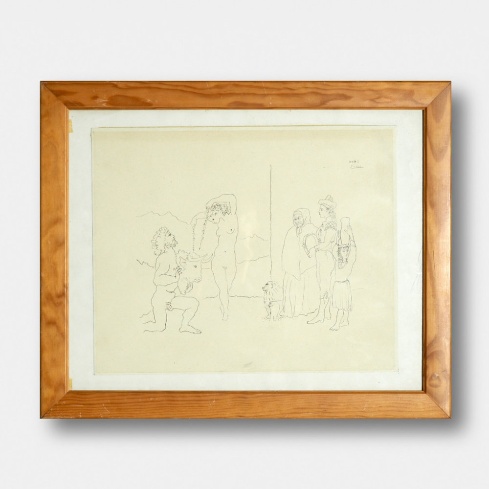 Picasso serigraphy, 60' - € 600