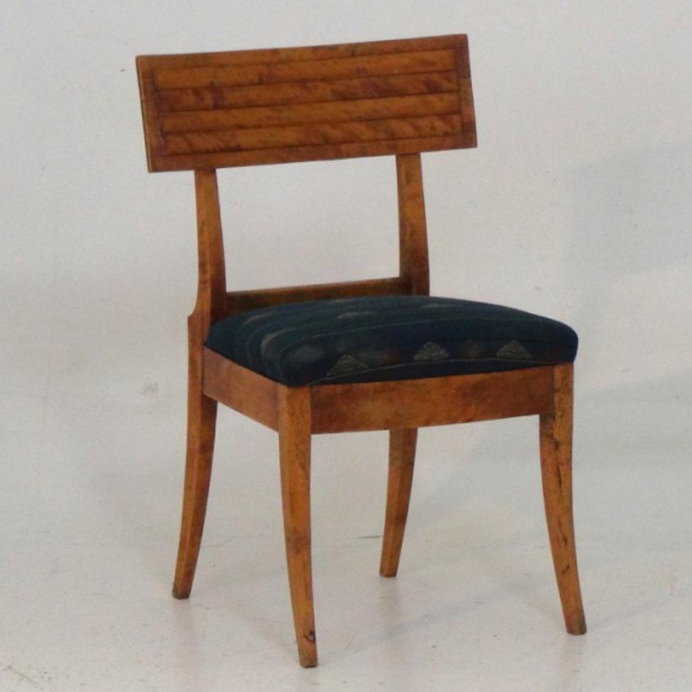 Rare Russian klismos chair, circa, 1850. - € 1.000