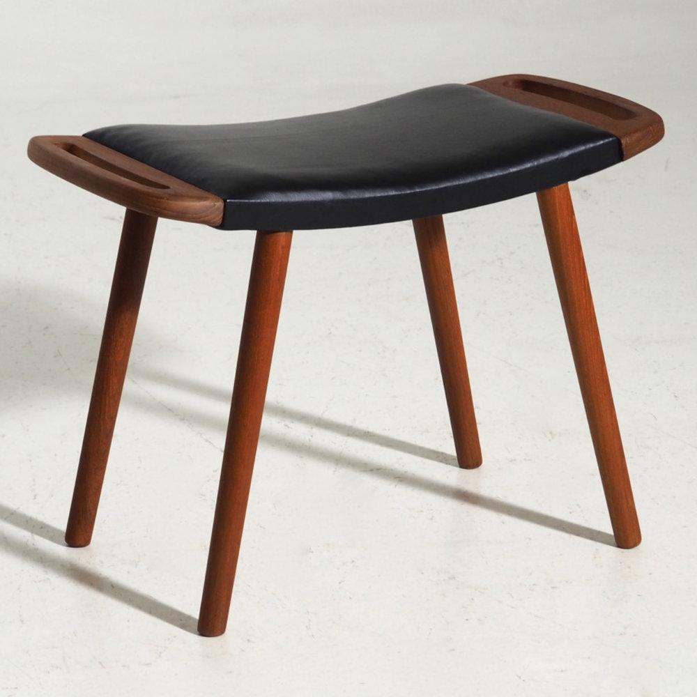 Danish stool in teak, 60´s. - € 700