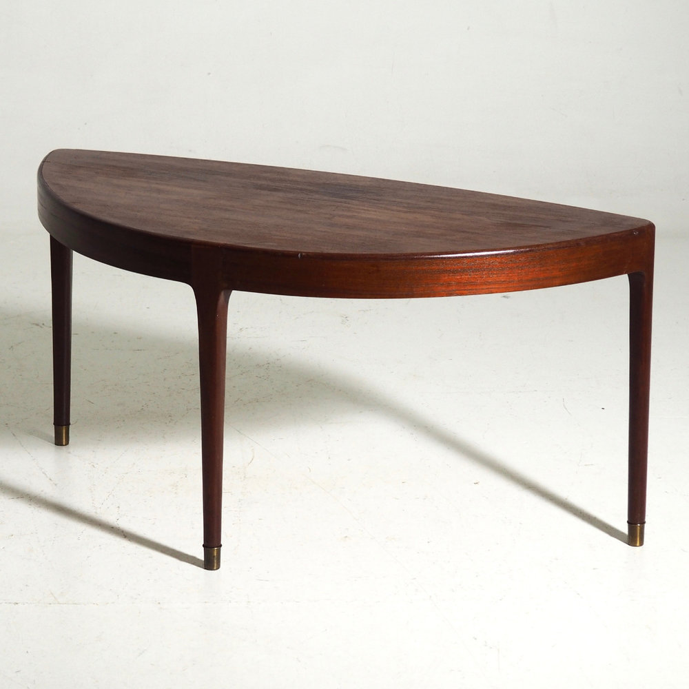 Rare coffee table in teak, 1960. - € 800