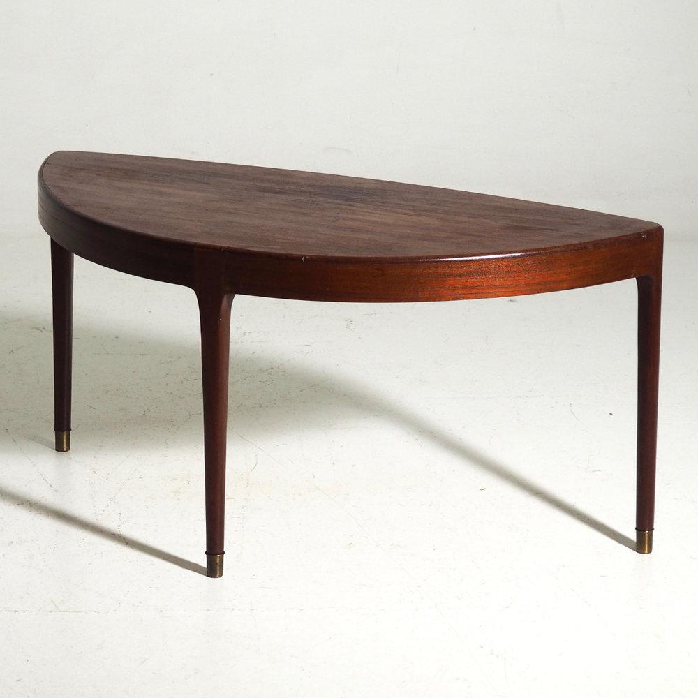 Rare coffee table in teak,1960. - € 800
