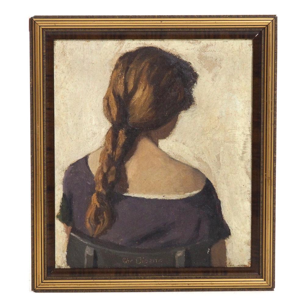 Impressionist painting, circa 1900. - € 1.000
