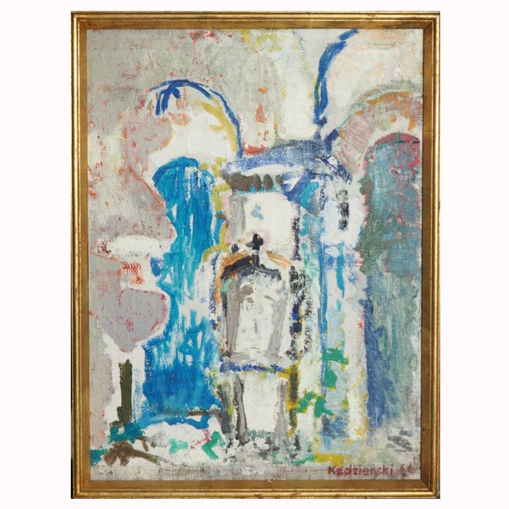 """Painting, signed """"Kedzierski ´64"""" - € 400"""
