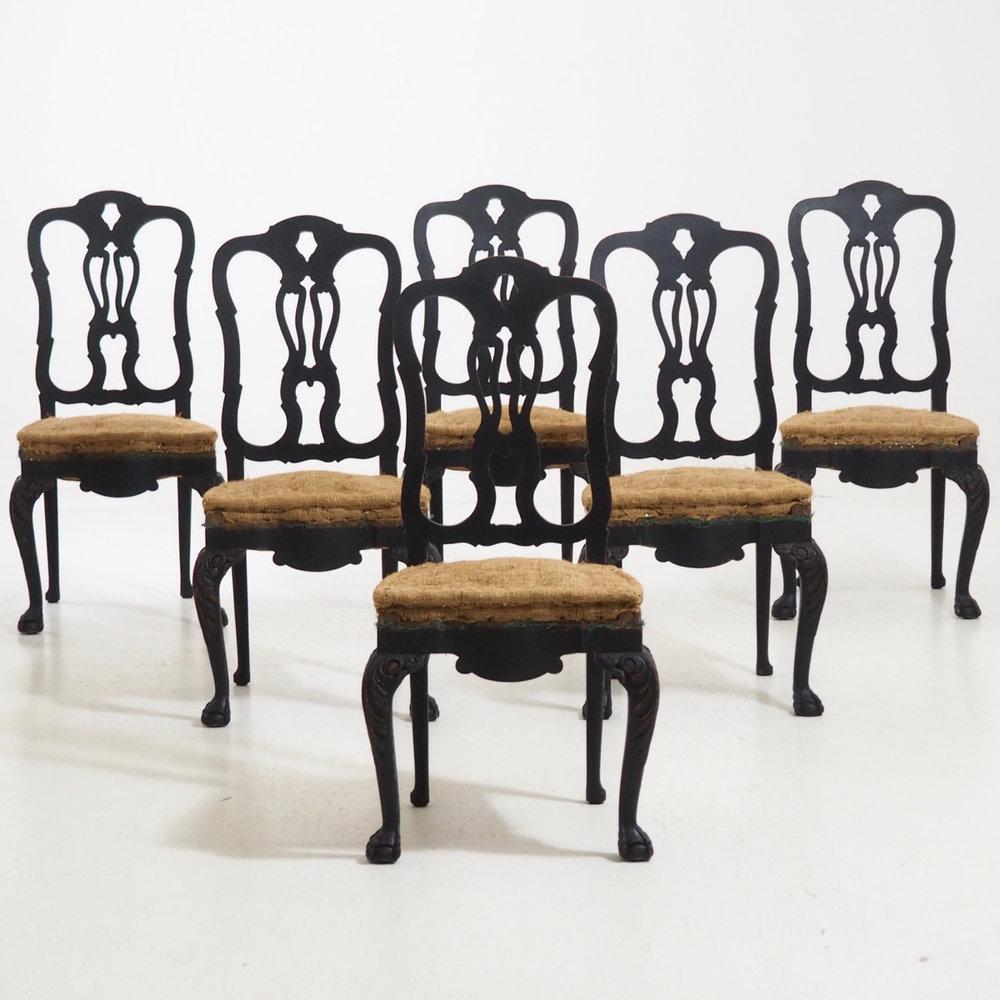 Large Swedish chairs, 19th C. - € 1.800