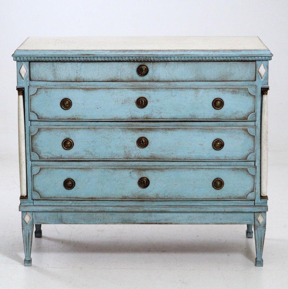 Very fine Gustavian chest, circa 1800 - € 1.700
