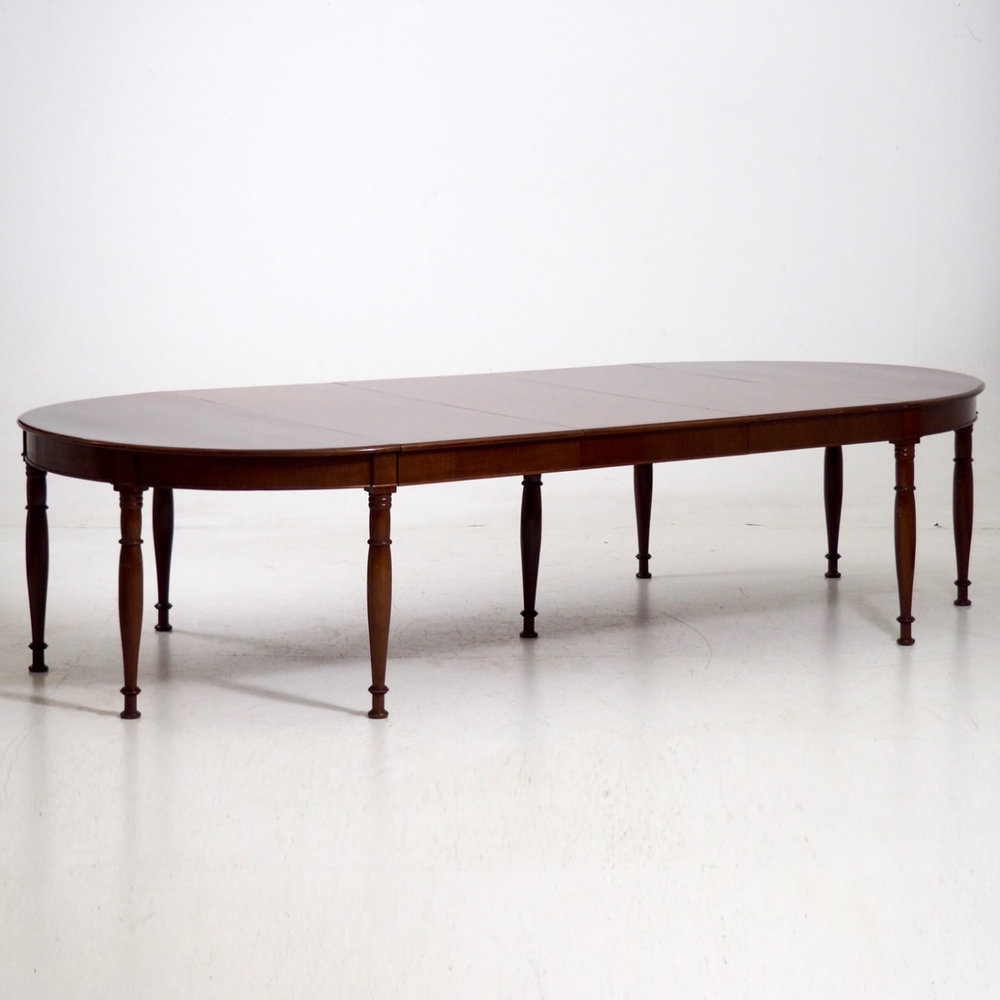 Extension table, ca. 1820 - 30. - € 3.300