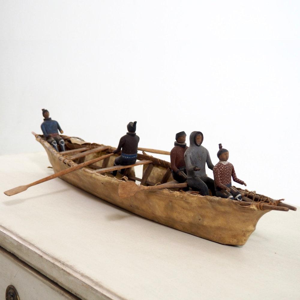 Eskimo miniture boat, 19th C. - € 1.000