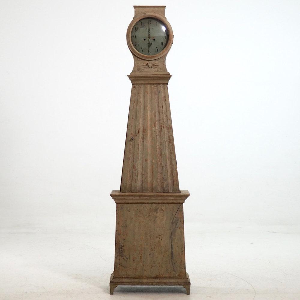 Gustavian grandfather clock, ca. 1790. - € 2.000