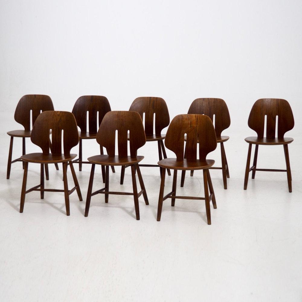 Danish design chairs. - € 2.000