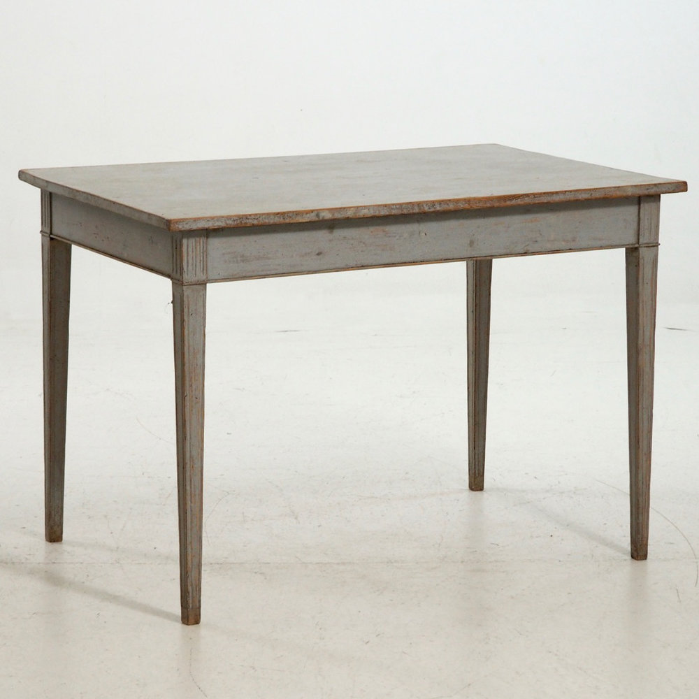 Late Gustavian table, 19th C. - € 1.200