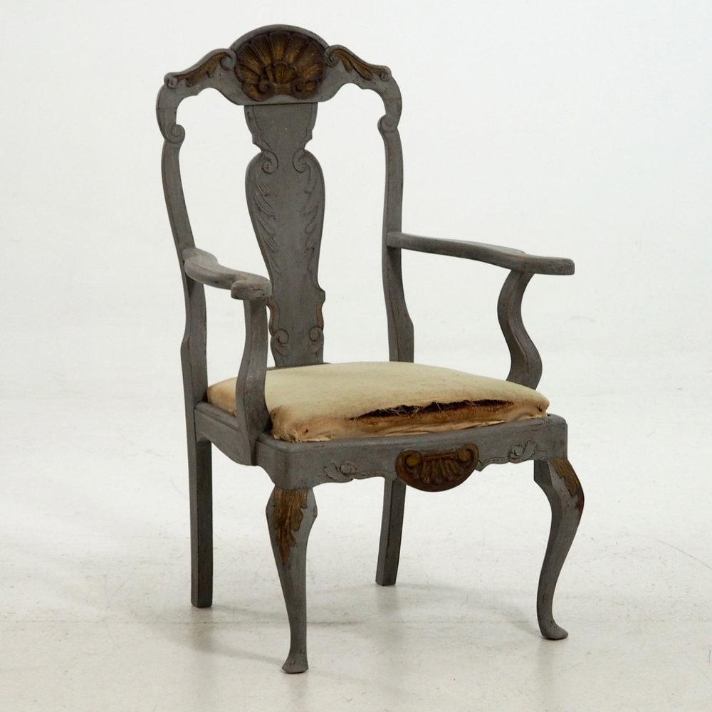 Scandinavian armchair, 19th C. - € 600