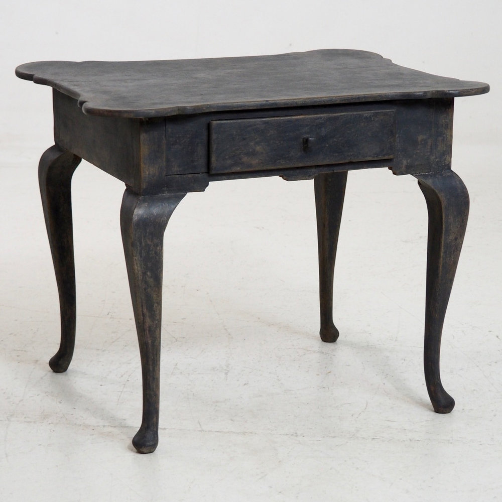 Small Freestanding Side Table In Rococo Style Th C Selected - Rococo side table