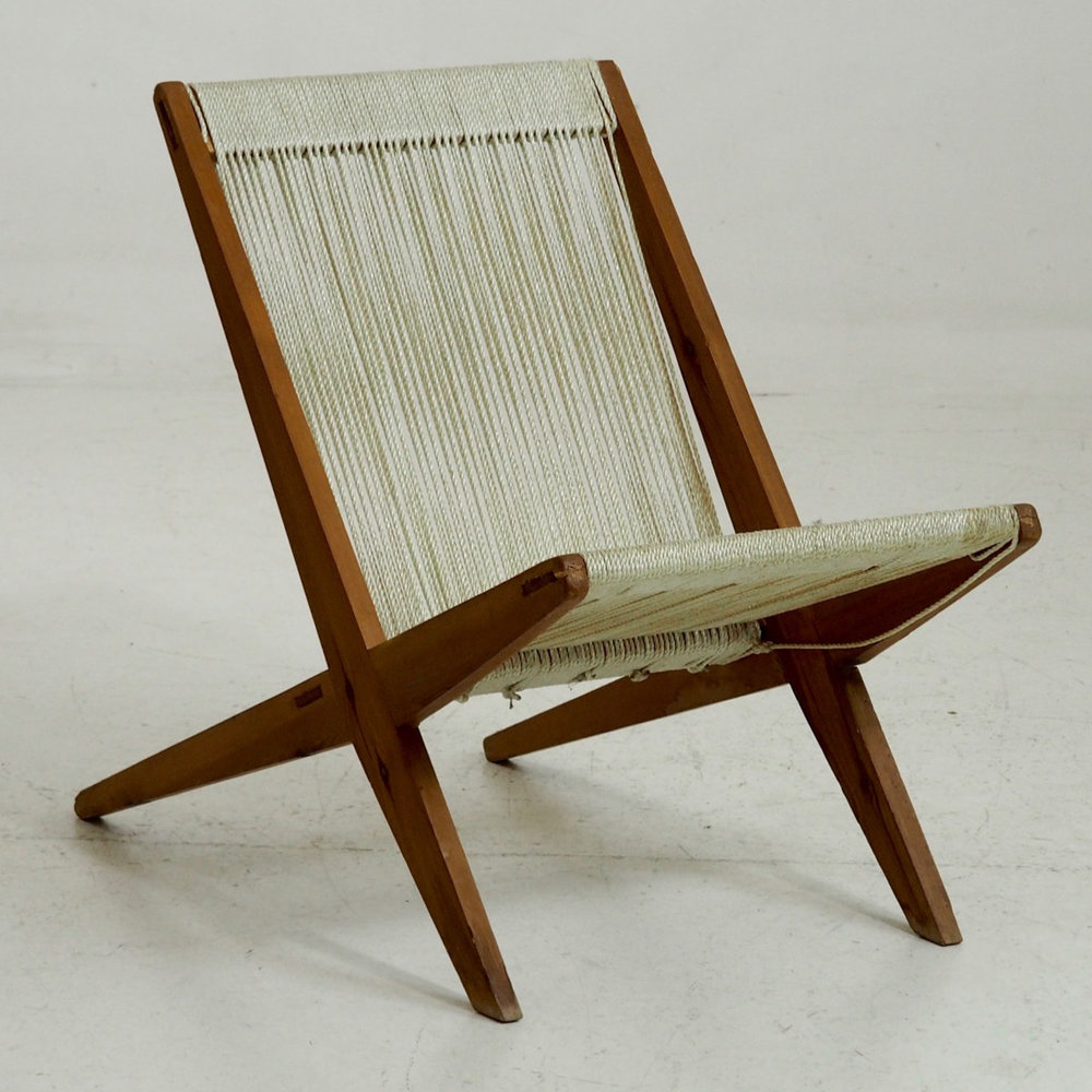 Rare Danish design chair, 60´s. - € 1.000