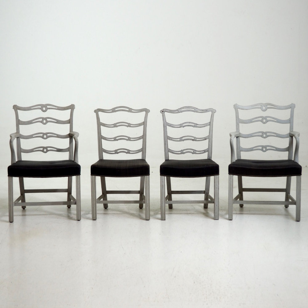 Scandinavian sidechairs, 19th C. - € 1.200