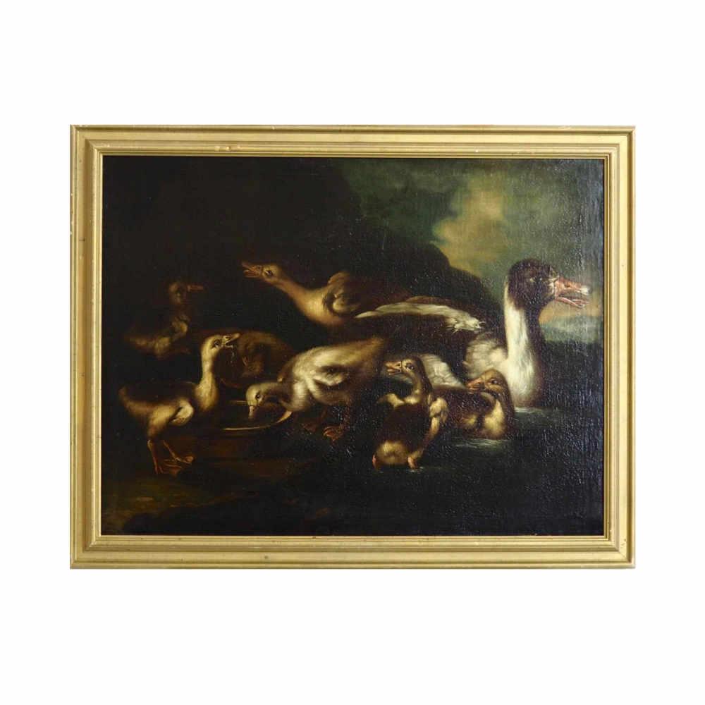 Old master Painting, circa 1700. - € 4.000