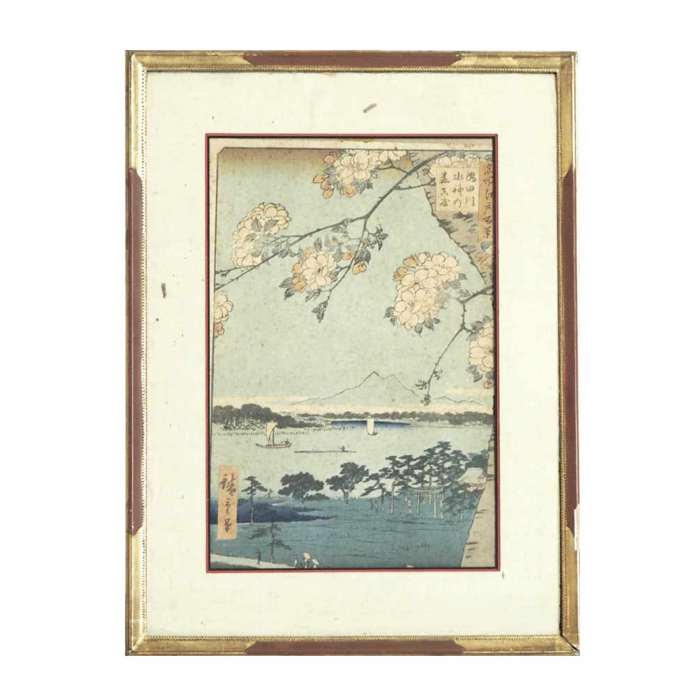 Hiroshigé woodcut, 19th C. - € 600