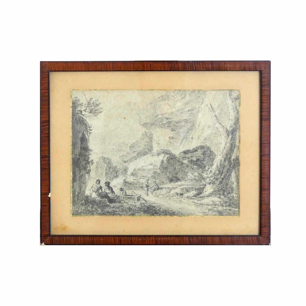 Tousch, Rembrandt-school, 17th C. - € 1.200