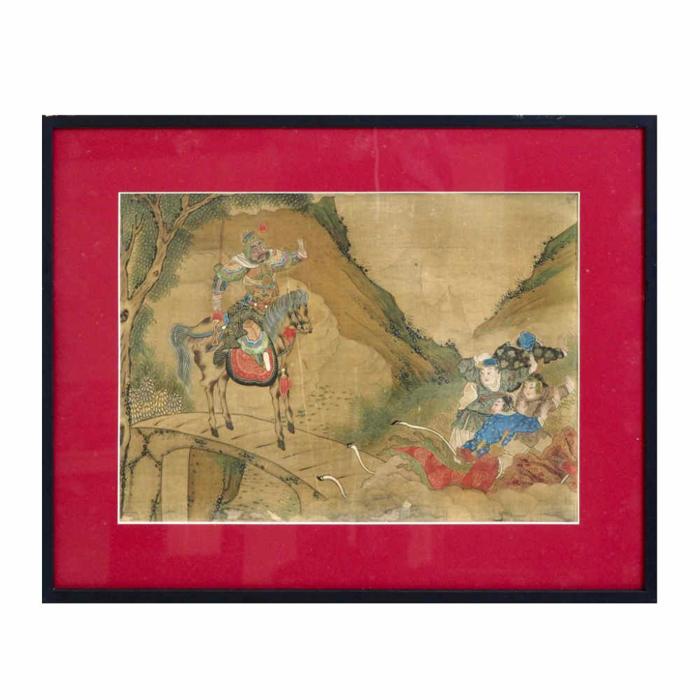 Beautiful Chinese painting, 18th C. - € 1.100