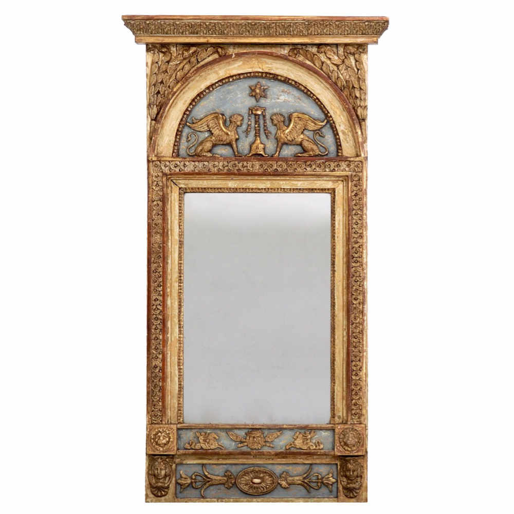 Richly carved mirror, circa 1790 - 1810 - € 2.500