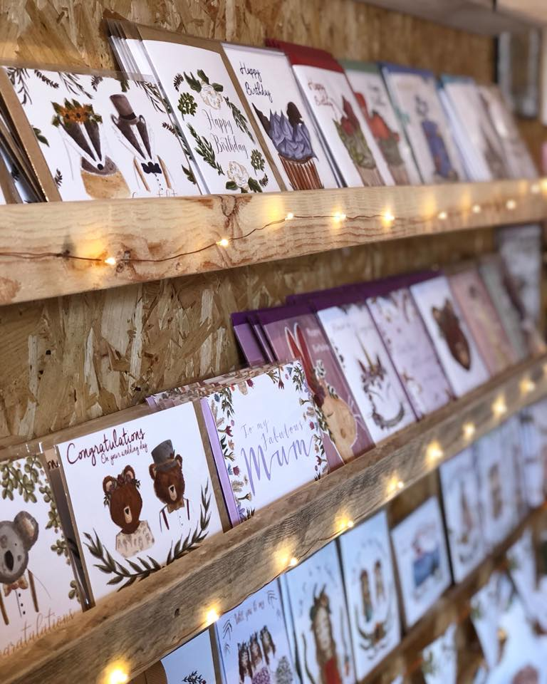 Just smile designs - Bohemian stationery.