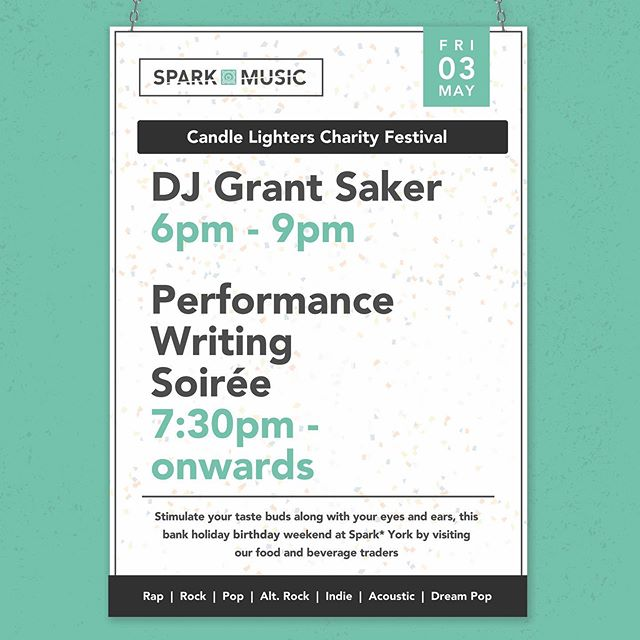 WE ARE ONE . Celebrate our first birthday with us and our diverse selection of traders this bank holiday weekend!! . Free live music, DJs, performances and events through to Monday. . . . #SparkYork #York #EatYork #DrinkYork #ShopYork #birthday