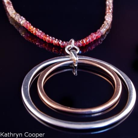 Sapphires_Garnets_Zircon_Silver_&_Gold_Pendant_Necklace